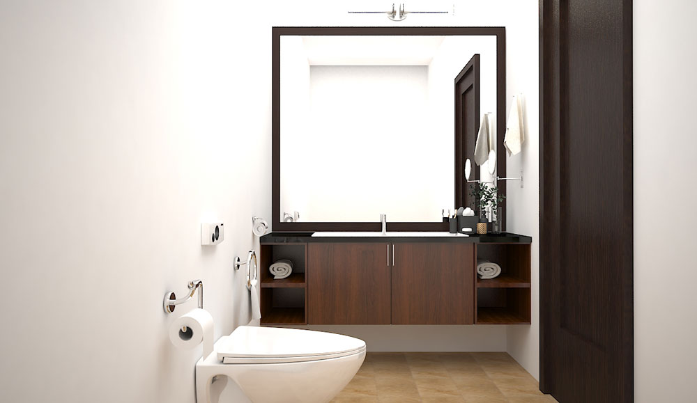 Compact Family Bathroom