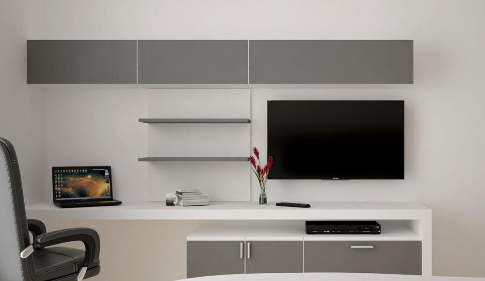 Bedroom TV Unit & Study Table