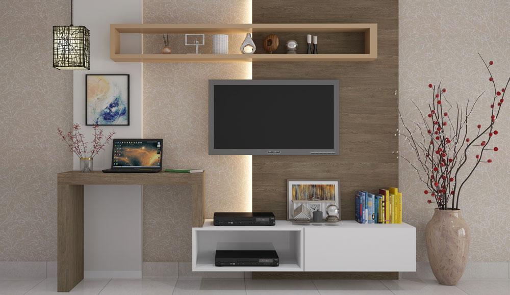 Simple Style TV Unit & Laptop Table