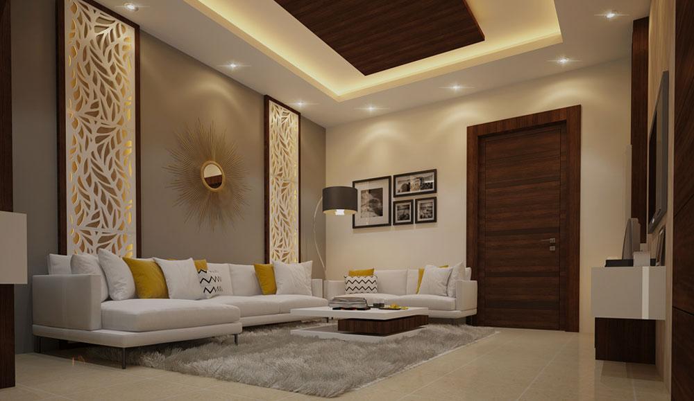 Living Area Modern Interior Design